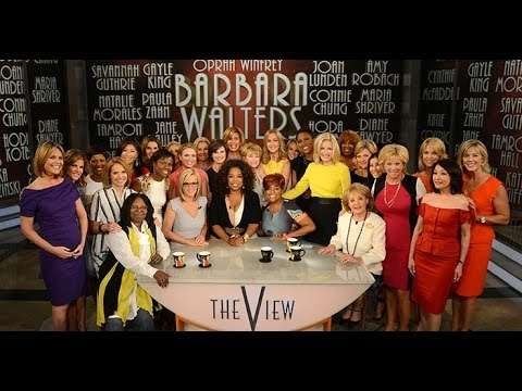 """Barbara Walters Says Goodbye to """"The View"""" - Highlights from the show"""