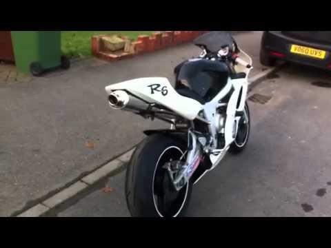 Yamaha R6 Under Tail Exhaust Custom
