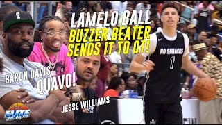 6'8 LaMelo Ball Hits Buzzer Beater in His LAST GAME Before Australia! The Drew League 2019