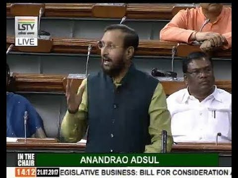 Prakash Javadekar Speaks on Right of Children to Free and Compulsory Education || Parliament
