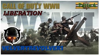 Call of Duty®: WWII (PS4) Gamplay Mission Liberation (No Comentary) (No Subtitulos en Español)