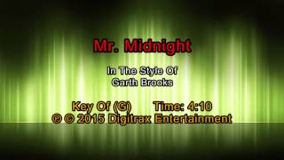 Watch Garth Brooks Mr Midnight video
