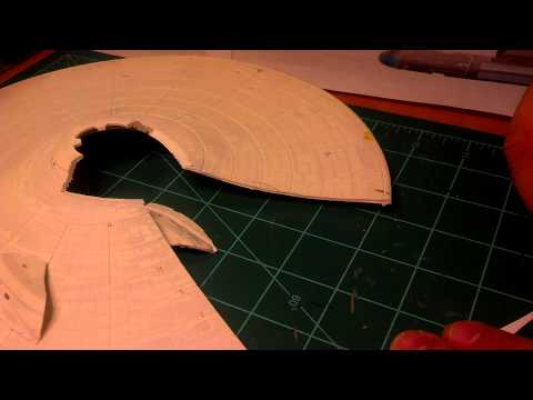 Cutting specific shapes in styrene from plans
