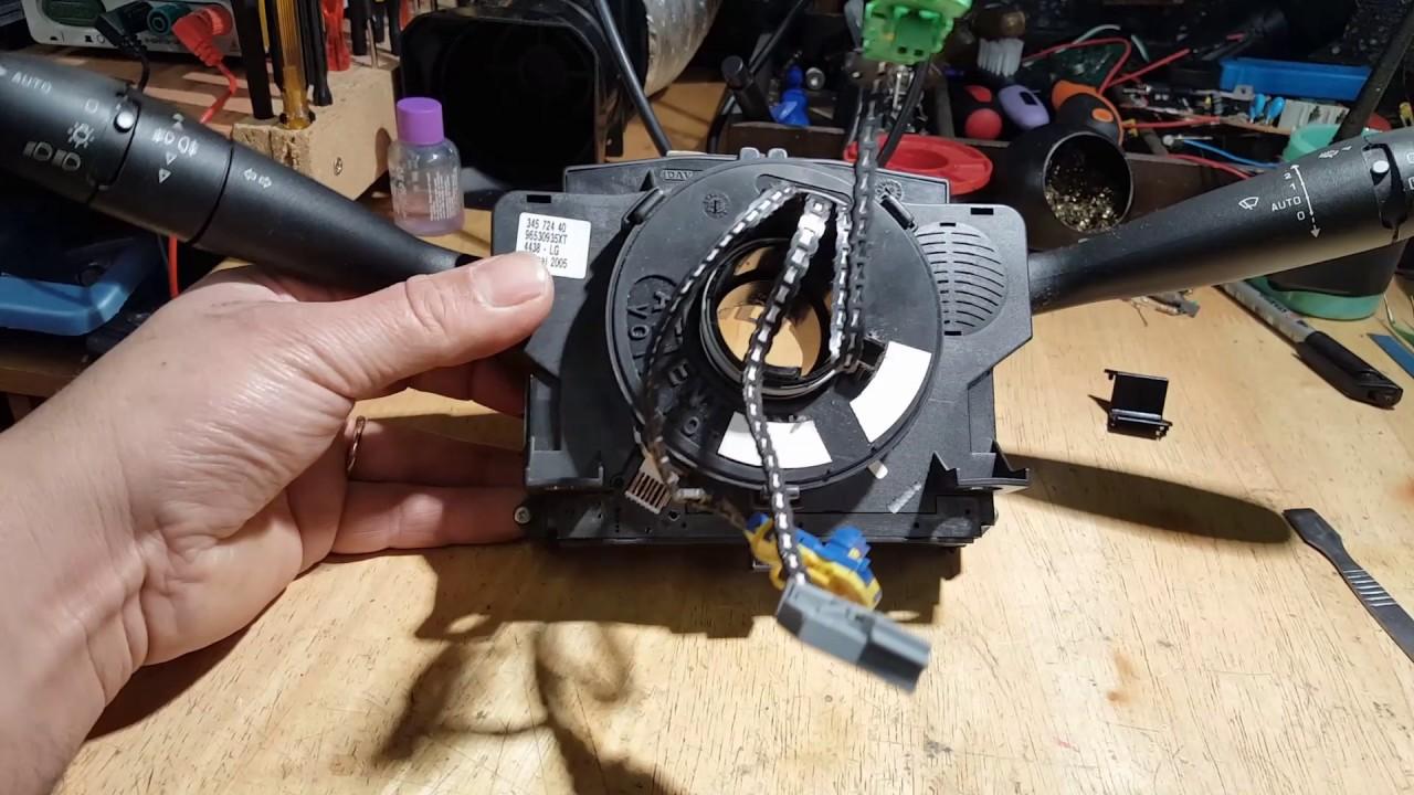 citroen c5 airbag wiring diagram craftsman garage door safety sensor manual e books peugeot 307 light on fault finding and clock spring repairpeugeot