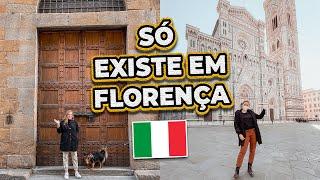COISAS BIZARRAS QUE VOCÊ VERÁ EM FLORENÇA NA ITÁLIA 🇮🇹