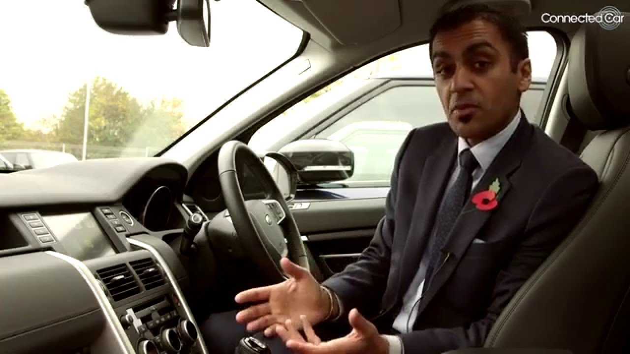 connected car: peter virk, jaguar land rover, interview part 2 - youtube