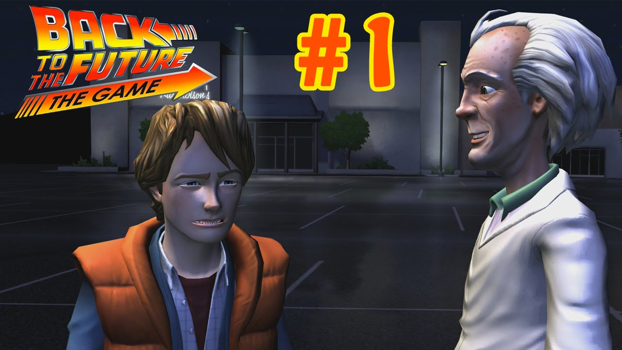 Back to the Future: The Game - Episode 2 Walkthrough Part 1