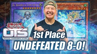Yu-Gi-Oh! 1ST PLACE UNDEFEATED: TEAMSAMURAIX1 NEW SHADDOLL DECK PROFILE! FEBRUARY 2020 FORMAT (OTS)