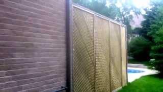 Lattice Sections For Deck Privacy - London Landscape Inc