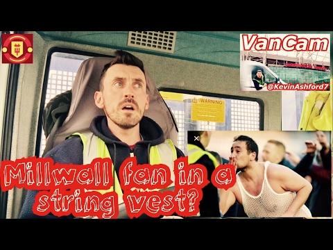 VanCam™: Look ahead to EFL Cup final 🏆 Millwall fan in string vest? ⚽️ Fellaini Watch💂🏻♀️