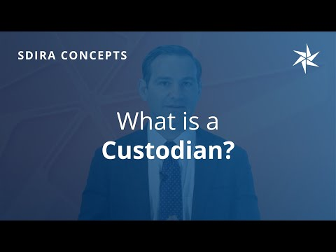 What Is A Custodian?