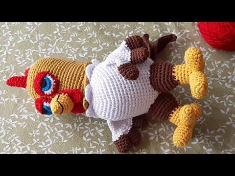 Galamigurumis Soy una Vaca: Patrón revisado - Galamigurumis | 360x480