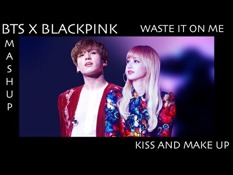 BTS ft. BLACKPINK - Waste It On Me/Kiss And Make Up | 10k Subscriber Tribute