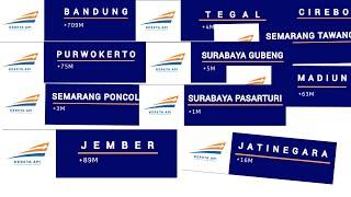UNIK!! Macam-macam Bel Stasiun Kereta Api yang ada di Pulau Jawa (Dari Jakarta sampai Banyuwangi)