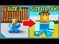 Becoming the Biggest Baby in Roblox