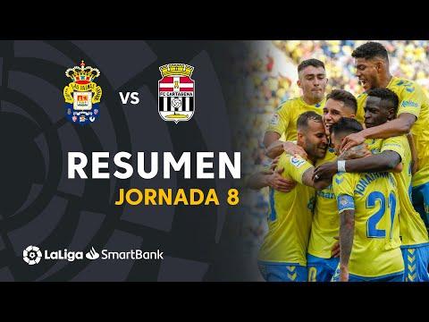 Las Palmas Cartagena Goals And Highlights