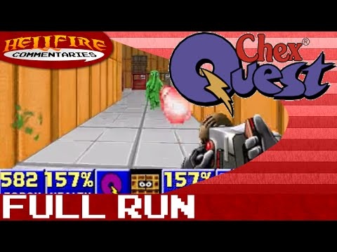 Chex Quest playthrough [Complete]