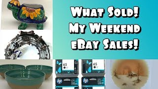 What sold! Weekend Edition #23 | What's Selling For Me On eBay | Sales Are Picking Up!