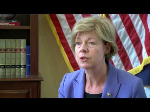 Sen. Tammy Baldwin on healthcare debate
