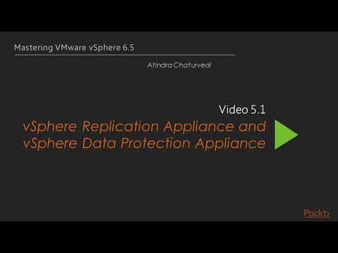 vSphere Replication Appliance and vSphere Data Protection Appliance