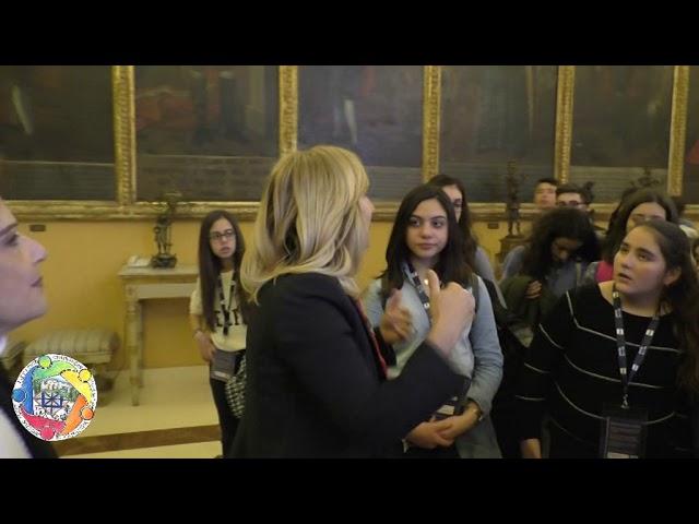 La visita a Palazzo dei Normanni