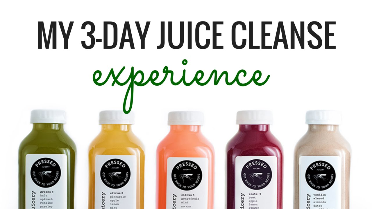 My 3-Day Juice Cleanse Experience