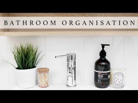 Bathroom Storage & Organization Ideas