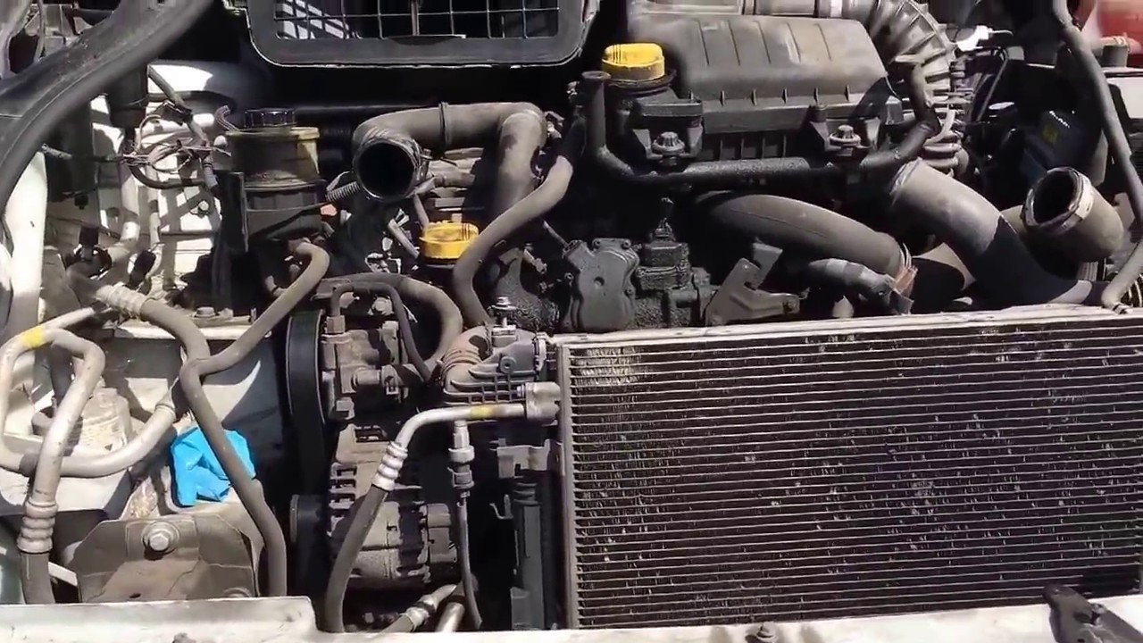 Vauxhall Vivara starter motor  YouTube