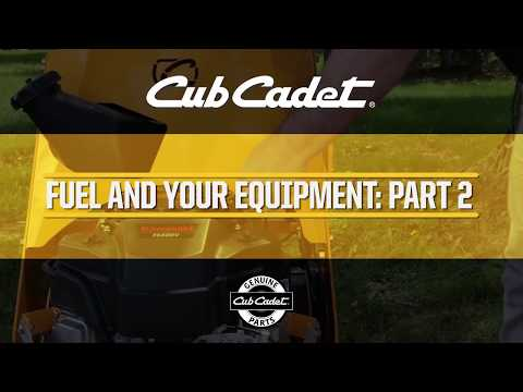 How to Prevent Outdoor Power Equipment Fuel System Issues