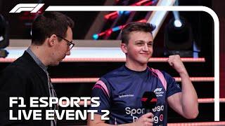 LIVE: F1 Esports Pro Series 2019 Event 2!