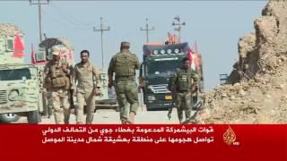 تواصل المعارك في بعشيقة شمال الموصل