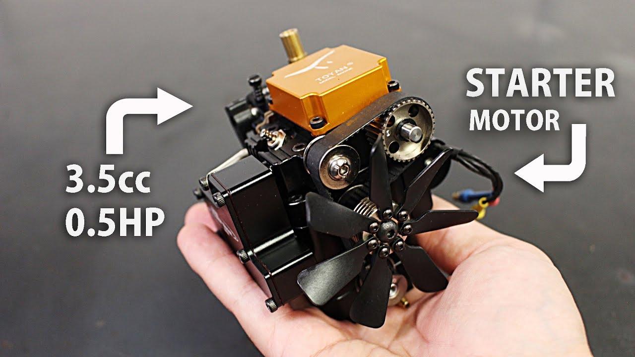 4 Stroke RC Engine Test