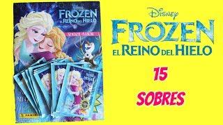 Video Frozen El Reino del Hielo album de cromos 15 sobres - Pegatinas de Frozen download MP3, 3GP, MP4, WEBM, AVI, FLV Januari 2018