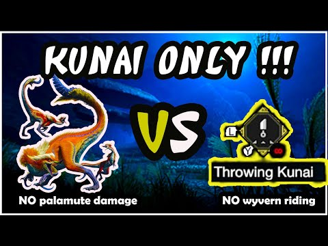 Great Izuchi KUNAI ONLY !! No Palamute, No Wyvern Riding (19.57)   Monster Hunter Rise Demo Gameplay  