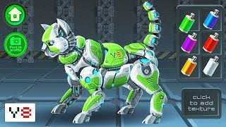 Cyber Cat Assembly - Y8 Game | Eftsei Gaming