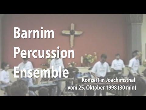 Barnim Percussion Ensemble in Concert