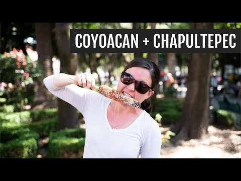 Exploring Coyoacan + Chapultepec Park | Mexico City Day 3