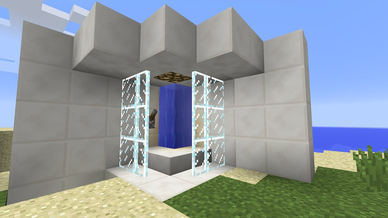 Minecraft Furniture Ideas | How to Make a Working Shower ...