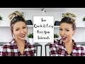 Hair Bun Tutorial | 2 QUICK & EASY HAIRSTYLES