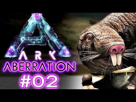 ARK ABERRATION Deutsch ROLL RAT Ark: Aberration Deutsch / German / Gameplay #02