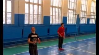 урок з волейболу