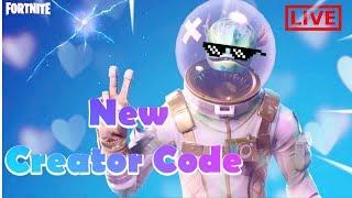 I Got A Creator Code!?!? |Fortnite Live + Family Friendly | OG RENEGADE RAIDER | OG SKULL TROOPER Video