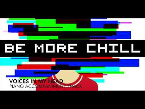 Voices in My Head - Be More Chill - Piano Accompaniment/Karaoke Track