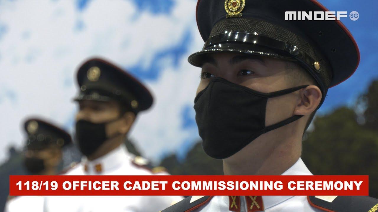 118/19 Officer Cadet Commissioning Ceremony