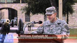 Lt. Gen. William Caldwell IV assumed command of U.S. Army North (Fifth Army)