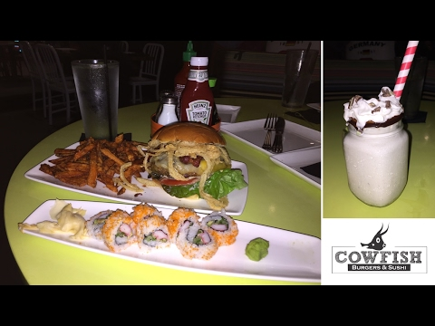 Finally Went To CowFish At City Walk Universal Orlando Resort! | BrandonBlogs