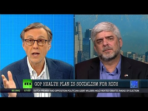Thom vs Joe Messina - Is GOP Health Plan Socialism For the Rich?
