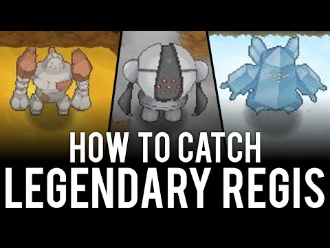 How to Unlock and Encounter the Legendary Regis - Pokémon Omega Ruby & Alpha Sapphire: How