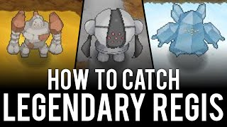 How to Unlock and Encounter the Legendary Regis - Pokémon Omega Ruby & Alpha Sapphire: How