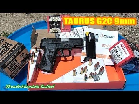 TAURUS G2C 9mm 1,200 Round review!!Upgraded PT111 Millennium G2!